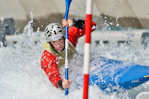 Fiona Pennie, British canoe slalom paddler