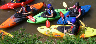 Courses, coaching and canoe training in London