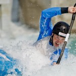 ICF Canoe Slalom World Cup at Cardiff, 8-10 June 2012.