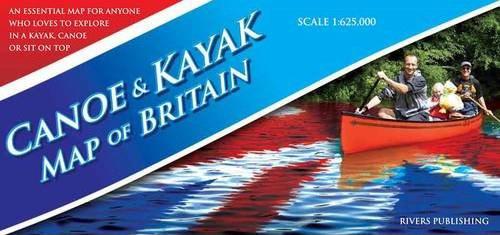 Canoe and Kayak Map of Britain