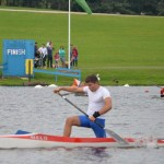 Coaching sprint canoe