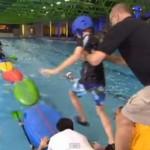 Kids / rolling kayaks challenge