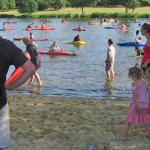 Beginners kayak course with Meridian Canoe Club, May 2013