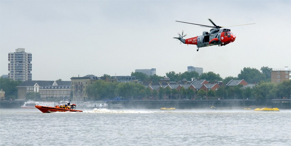 The RNLI has four stations along the Thames - and they are kept busy!