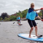 Thames Stand Up Paddle Board Challenge 2014