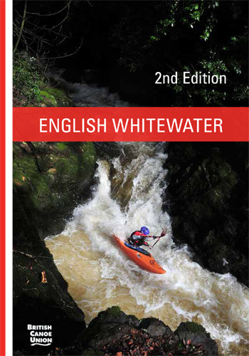 English Whitewater Guide book