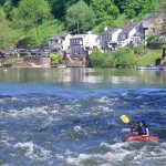 Learn to kayak on white water with Regents Canoe Club