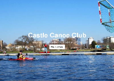 Canoe polo at Castle Canoe Club – 15 minutes from central London