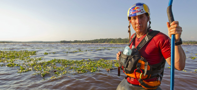 Pro-kayaker Steve Fisher comes to London Sunday 30th November