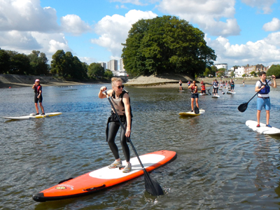 Take to the River Thames with free paddleboard and kayaking lessons at TideFest, Sunday 28 September