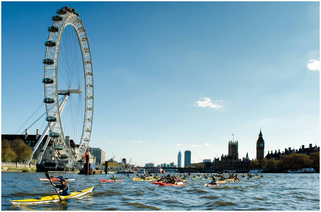 London Kayakathon 2015