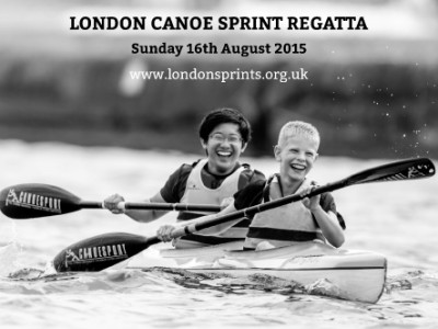 London Canoe Sprint Regatta Sunday 16th August 2015