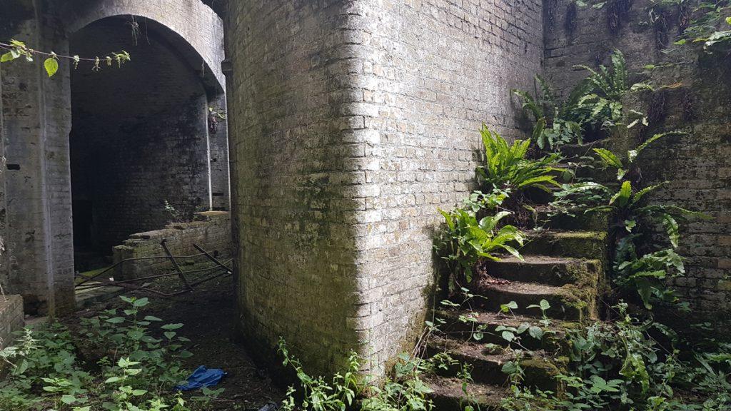 Steps in Fort Hoo